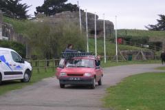 Mise en place pylone et antennes 2012