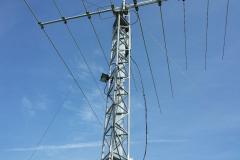 Travaux pylone vhf - filaire 2014